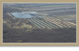Commune de Baie du Febvre après restauration/ministère de l'Énergie et des Ressources naturelle du Québec